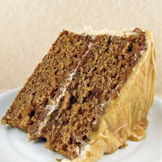 Caramel Apple Layer Cake with Cream Cheese Frosting