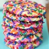 Rainbow Sprinkle Cream Cheese Cookies