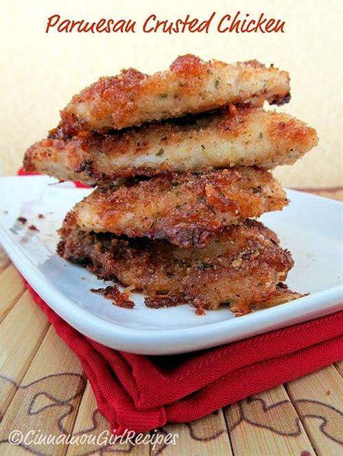 Parmesan Crusted Chicken: Hellmann