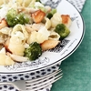 Broccoli, Chicken and Feta Pasta