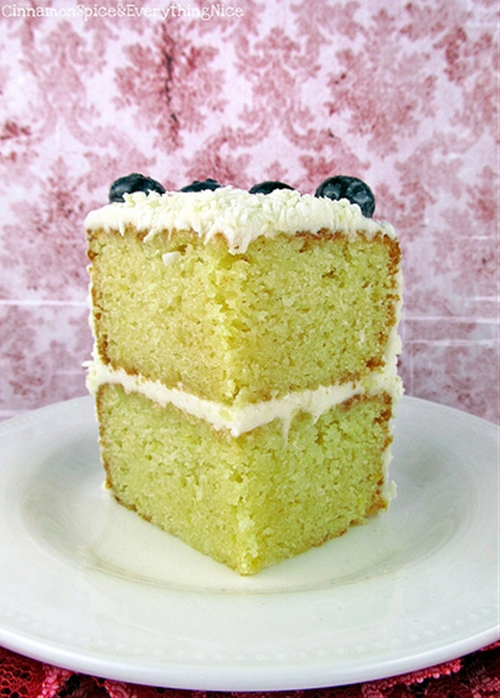 Lemon Layer Cake with Lemon Cream Cheese Frosting recipe | Chefthisup