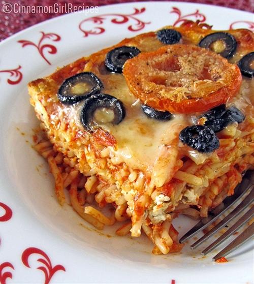 Baked Ricotta Spaghetti