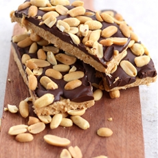 No Bake Coconut Peanut Butter Bars