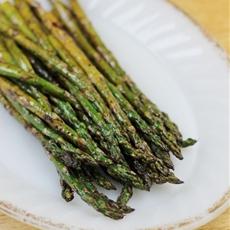 Grilled Balsamic Asparagus