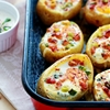 Baked Egg Potato Bowls