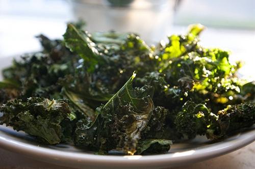 Baked Kale Chips recipe | Chefthisup