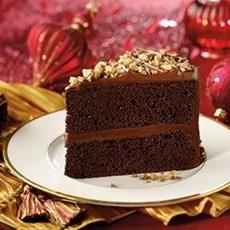 "HERSHEYS ""PERFECTLY CHOCOLATE"" Chocolate Cake"