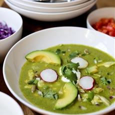 Mexican Posole Verde Soup
