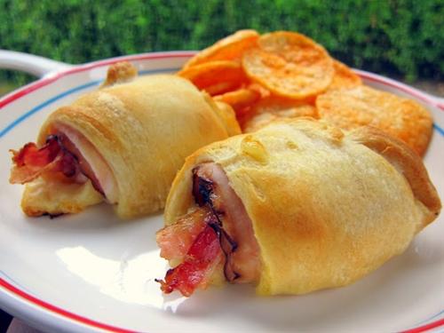 Turkey Bacon Crescents