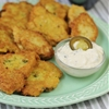Quinoa and White Bean Fritters