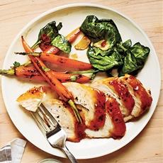 Manhattan-Glazed Chicken Recipe