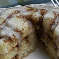 Cinnamon Roll Pancakes Recipe