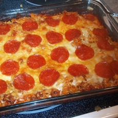 Pizza Pasta Casserole - Weight Watcher Recipes