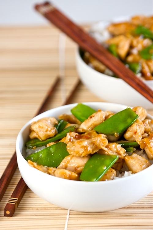 """Healthier General Tso""""s Chicken"""