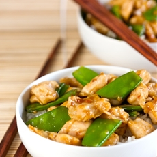 "Healthier General Tso""s Chicken"