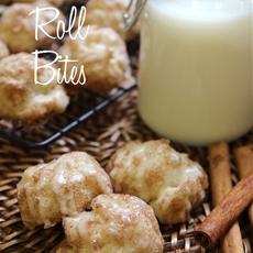 Cinnamon Roll Bites