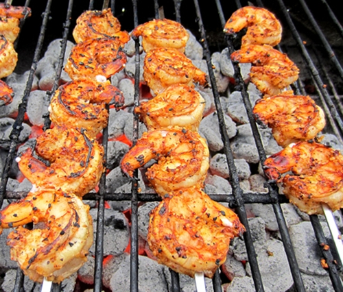 Lemon & Spice Grilled Shrimp
