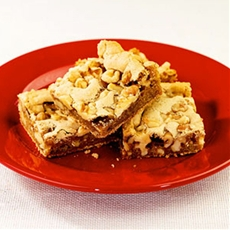 "Chewy Walnut ""Tears Them Away From the Game"" Squares"