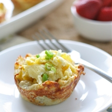 Hashbrown & Egg Nests