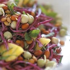 Rainbow Sprouts Salad