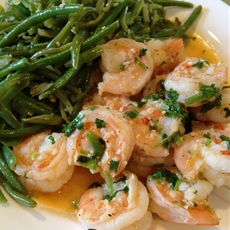 Cilantro Lime Shrimp & Green Beans