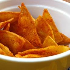 Homemade Doritos