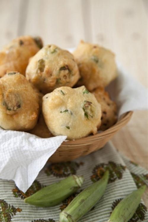 Paula Deen Okra Fritters