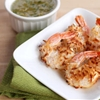 Healthy Baked Coconut Shrimp with Pineapple Sauce