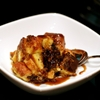 Chocolate Chip Bread Pudding with Cinnamon-Rum Sauce