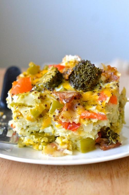 Healthy Crockpot Breakfast Casserole