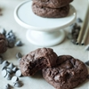 Chocolate Brownie Cheesecake Cookies