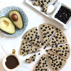 Avocado Scones – Vegan and Gluten Free