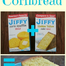 jiffy cake cornbread