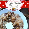 Apple cobbler oatmeal