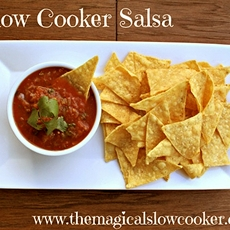 Slow cooker salsa