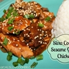 Slow Cooker Sesame Garlic Chicken