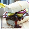 Slow cooker boneless rib sandwich