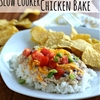 Slow Cooker Fiesta Chicken Bake