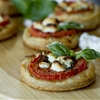 Mini Tomato & Goat Cheese Tarts