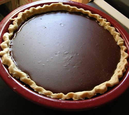 Grandmas Chocolate Pie