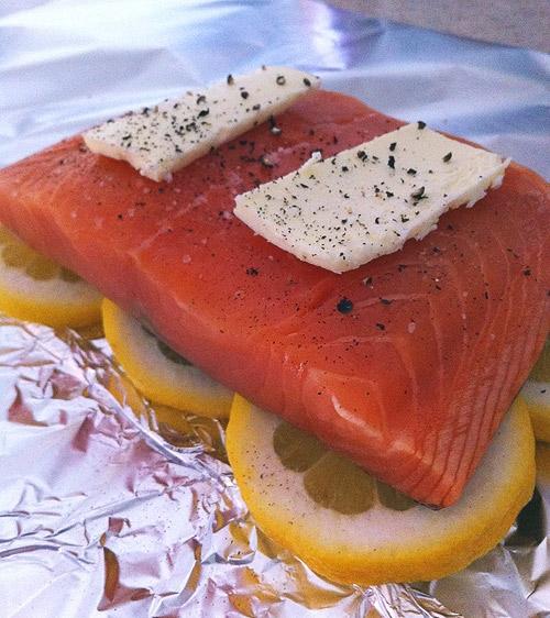 Salmon in a Bag