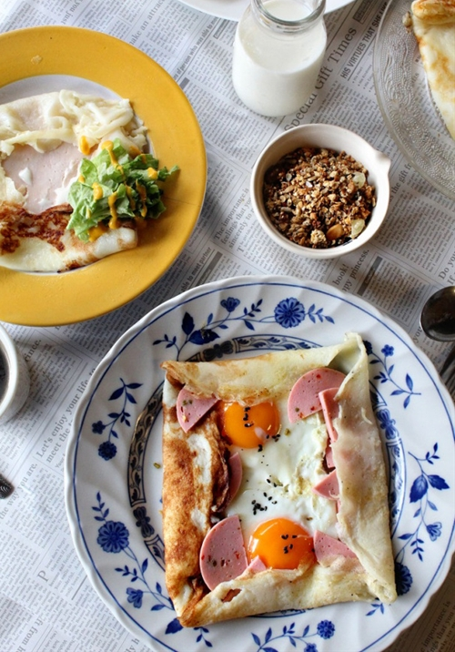 French Breakfast Galettes