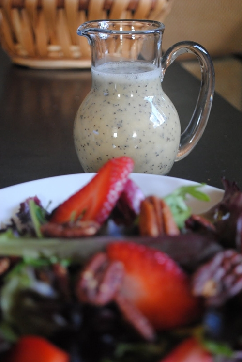 Lime Poppy Seed Dressing