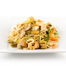 Shrimp and Spinach Stir Fry