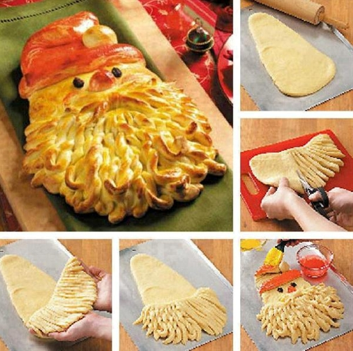 Golden Santa Bread