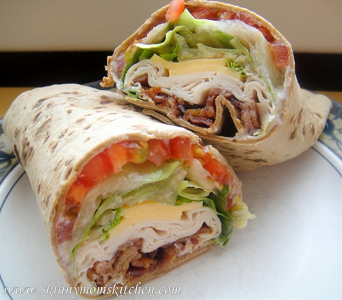 Skinny Turkey Ranch Club Wrap