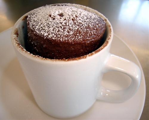 Vanilla Coffee Mug Cake