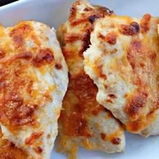 4-Ingredient Cheesy Ranch Chicken