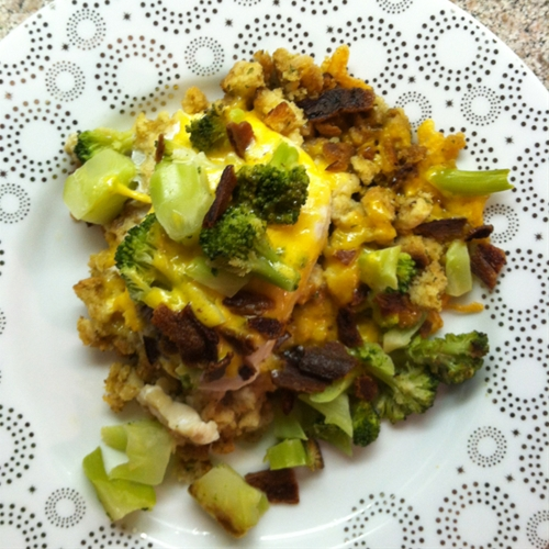 Foil-Pack Chicken and Broccoli Dinner