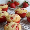 Strawberries & Cream Muffins
